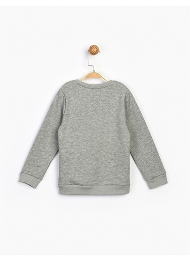 Panolino  Kız Çocuk Sweatshirt 16652 Gri